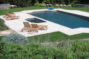 Natural Stone Pool Deck & Patio Restoration