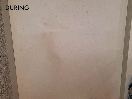 Caesarstone Honing and Cleaning