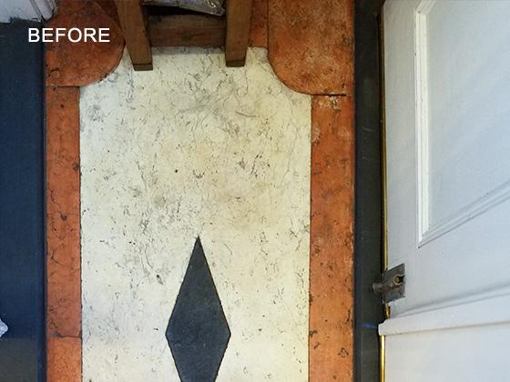 Marble Floor Refinishing