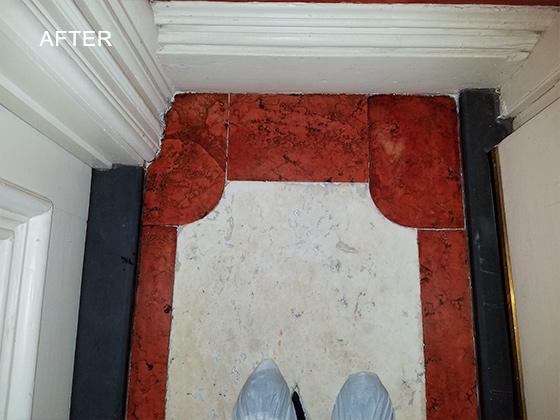 Marble Floor Honing