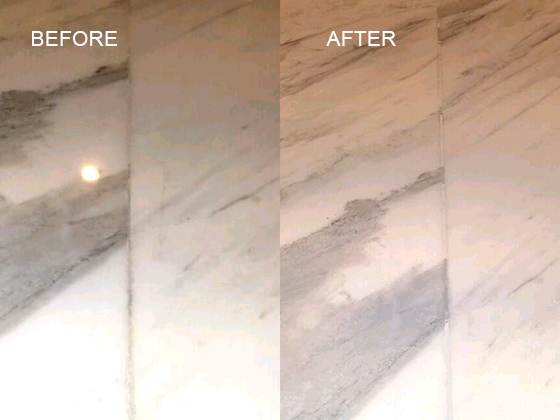Marble Countertop Seam Repaired