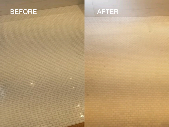 Lippage Removed, Grout Replaced