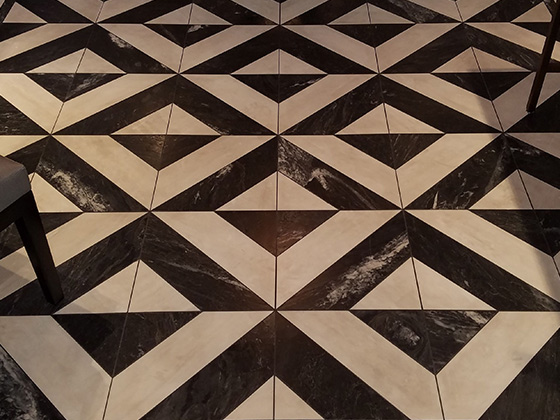 Dirty Textured Marble Floor